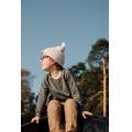 Хлопковая шапка айвори New