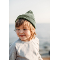 Хлопковая шапка хаки New