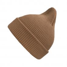 Хлопковая шапка светло-коричневая New