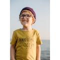 Хлопковая шапка фиолетово-бордовая New