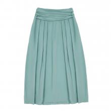 Взрослая юбка цвет морской волны пастельный
