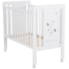 Кроватка Micuna Little Chick White/Aquamarine