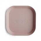 Квадратные тарелки (2шт) Blush