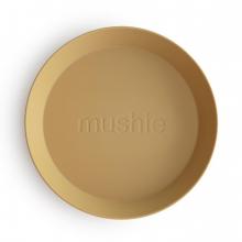 Круглые тарелки (2шт) Mustard