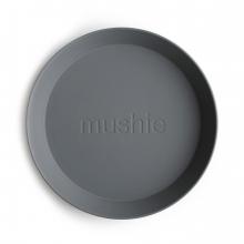 Круглые тарелки (2шт) Smoke