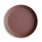 Круглые тарелки (2шт) Woodchuck