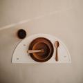 Круглые тарелки (2шт) Caramel