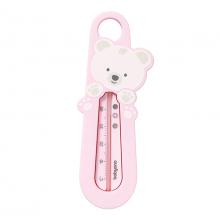 Термометр для купания - Мишка (розовый)
