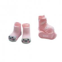 Набор носочков Котик розовый