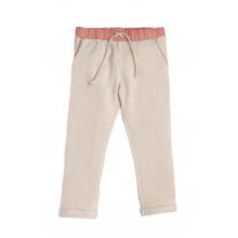 Трикотажные брюки в овсяном цвете