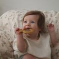 Прорезыватель BIBS Baby Bitie Heart Mustard