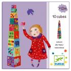 Кубики-пирамидка забавные животные