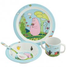 Набор детской посуды Barbapapa