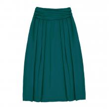 Взрослая юбка изумрудная