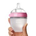 Бутылочка для кормления Розовая (150 мл)