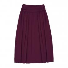 Взрослая юбка бордовая