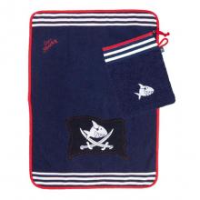 Полотенце с варежкой Capt'n Sharky
