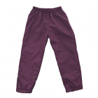 Штаны из плащевки лилово-бордовые