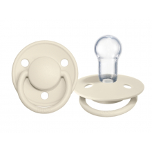 BIBS De Lux Silicone Ivory 0-36 мес