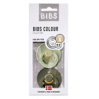 BIBS Colour (2 шт): Sage/Hunter Green, 0-6 мес