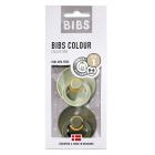 Набор BIBS Colour: Sage/Hunter Green, 0-6 мес
