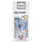 Набор BIBS Colour: Sky Blue/Baby Blue, 0-6 мес