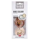 Набор BIBS Colour: Woodchuck/Blush, 0-6 мес