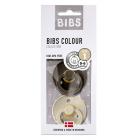 Набор BIBS Colour: Chocolate/Sand, 0-6 мес