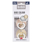 Набор BIBS Colour: Blush Night/Vanilla Night, 0-6 мес