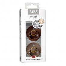 Набор BIBS Colour: Mocha/Dark Oak, 0-6 мес