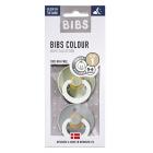 Набор BIBS Colour: Sage Night/Cloud Night, 0-6 мес
