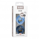 Набор BIBS Colour: Sky Blue/Steel Blue, 0-6 мес