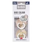 Набор BIBS Colour: Blush Night/Vanilla Night, 6-18 мес