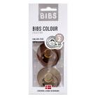 Набор BIBS Colour: Mocha/Dark Oak, 6-18 мес
