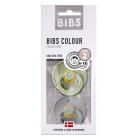 Набор BIBS Colour: Sage/Cloud, 6-18 мес