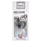 Набор BIBS Colour: Iron/Baby Blue, 18-36 мес