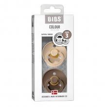 Набор BIBS Colour: Vanilla/Dark Oak, 18-36 мес