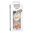 Набор BIBS Colour: Ivory/Blush, 18-36 мес
