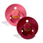 Набор BIBS Colour: Coral/Ruby, 6-18 мес