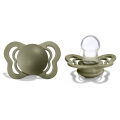 BIBS Couture Silicone Olive 0-6 мес