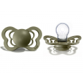 BIBS Couture Silicone Olive 6-36 мес