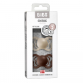 Набор BIBS Couture Silicone: Vanilla/Mocha, 6-36 мес