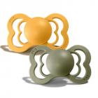 Набор BIBS Supreme Latex : Honey Bee/Olive, 0-6 мес