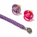 Плетеный держатель Пурпурный