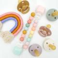 Держатель для пустышки Lolli Pastel Rainbow