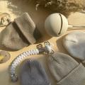 Хлопковая шапка песочный темный New
