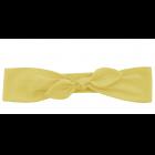 Повязка-бантик желтая