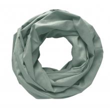 Легкий шарф-снуд мятный