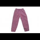 Штаны из плащевки темно-розовые