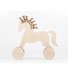 Лошадка с хвостом